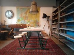 renovatie oude picknick tafel