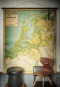 Landkaart Nederland